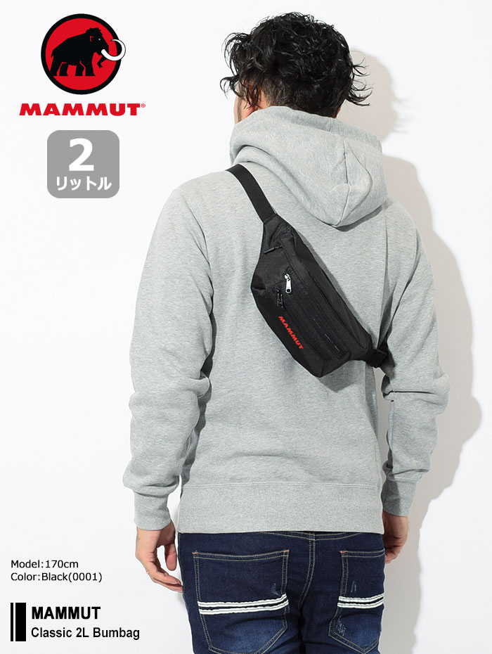 MAMMUTマムートのウエストバッグ Classic 2L Bumbag01