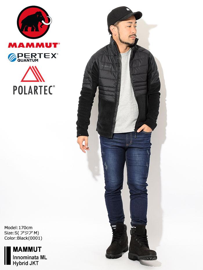 MAMMUTマムートのジャケット Innominata ML Hybrid01