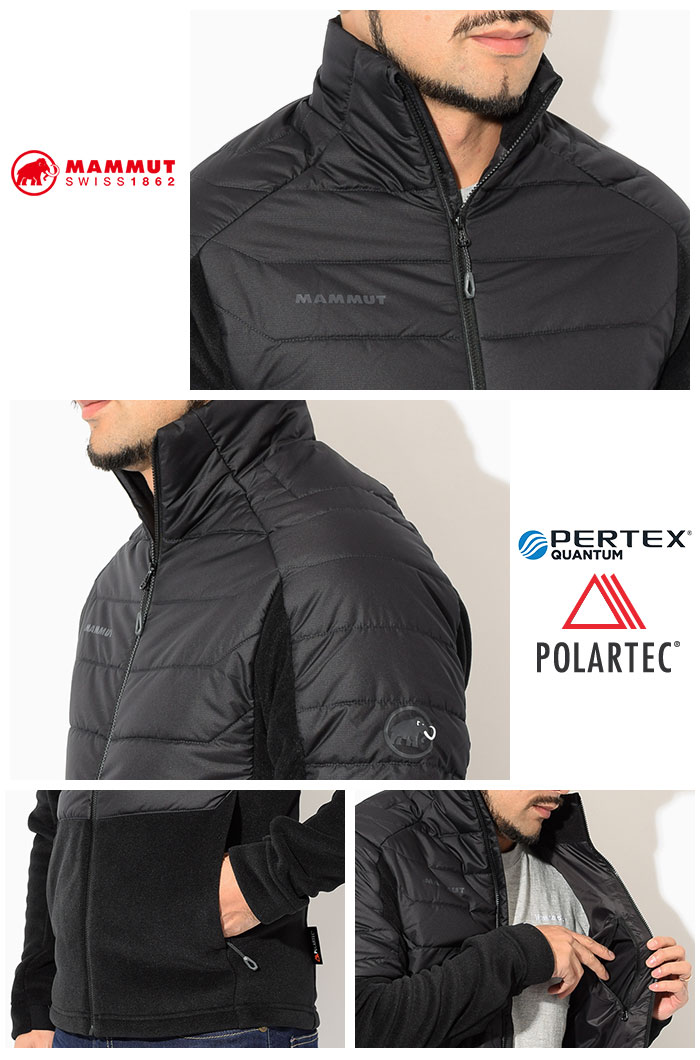 MAMMUTマムートのジャケット Innominata ML Hybrid04
