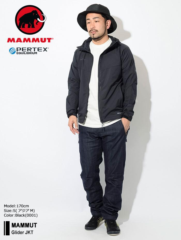 MAMMUTマムートのジャケット Glider01
