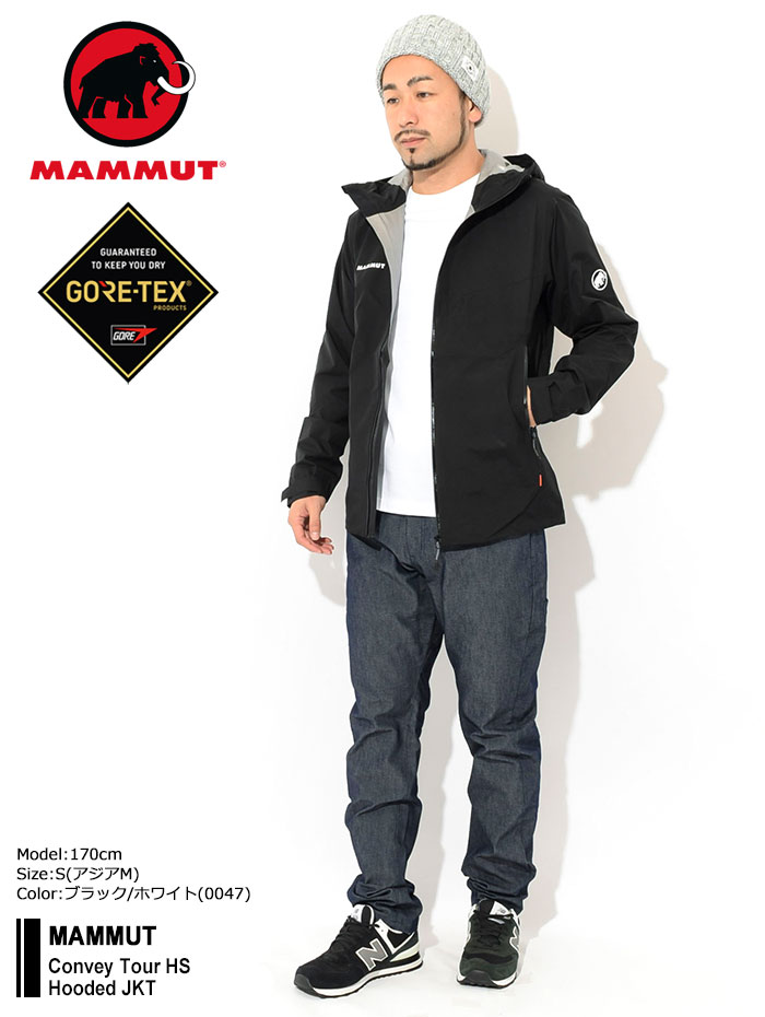 MAMMUTマムートのジャケット Convey Tour HS Hooded01