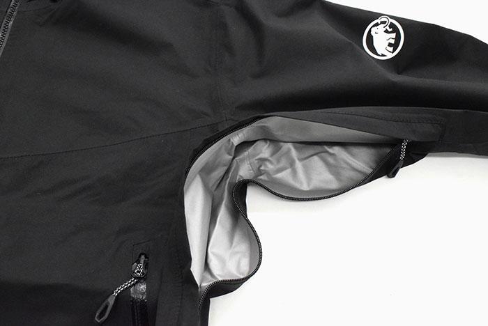 MAMMUTマムートのジャケット Convey Tour HS Hooded11