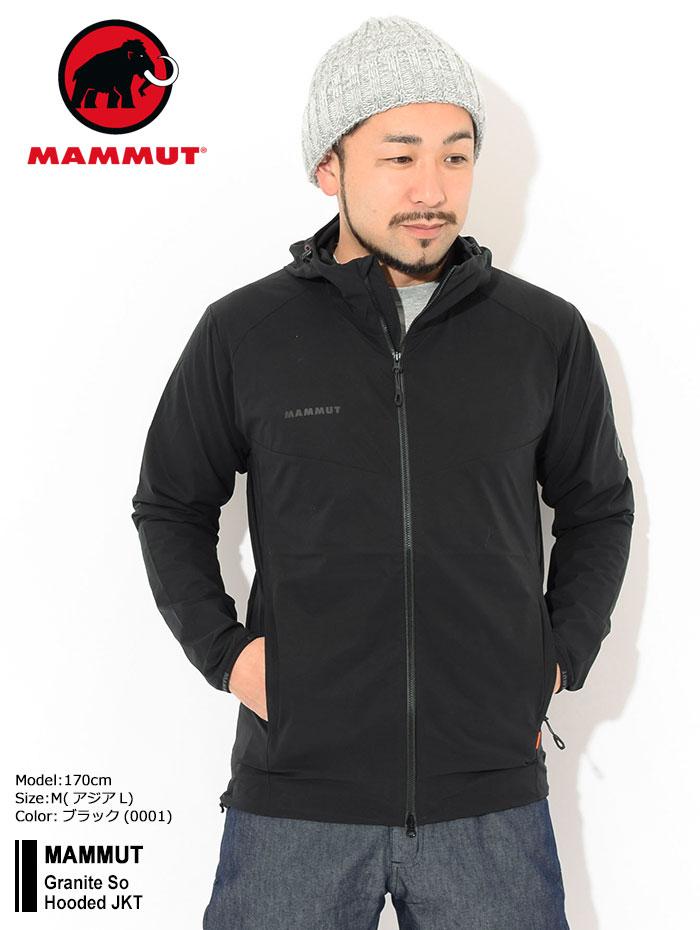 MAMMUTマムートのジャケット Granite So Hooded01