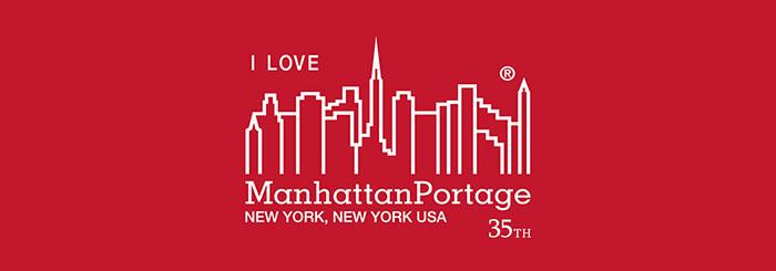Manhattan Portageマンハッタンポーテージのメッセンジャーバッグ I Love New York Casual Medium Messenger Bag01