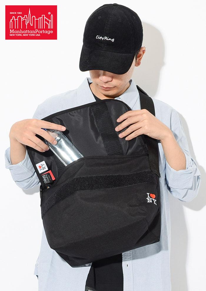 Manhattan Portageマンハッタンポーテージのメッセンジャーバッグ I Love New York Casual Medium Messenger Bag03
