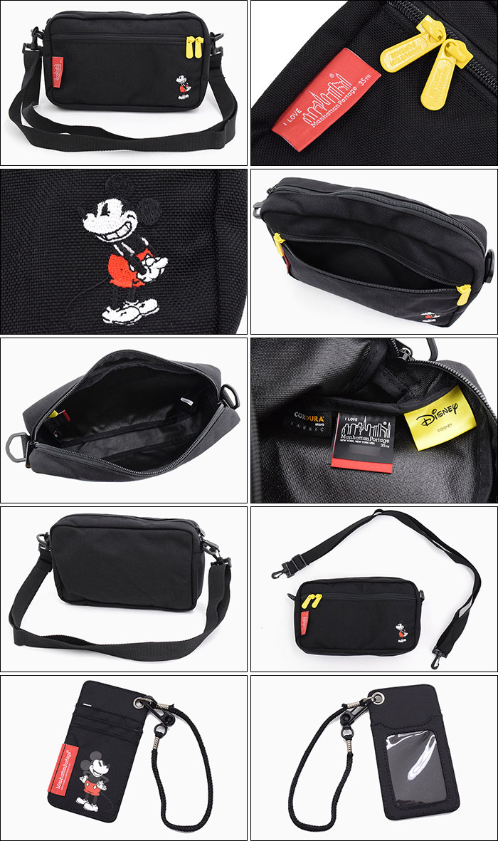 Manhattan Portageマンハッタンポーテージのショルダーバッグ Mickey Mouse Collection Jogger Bag08