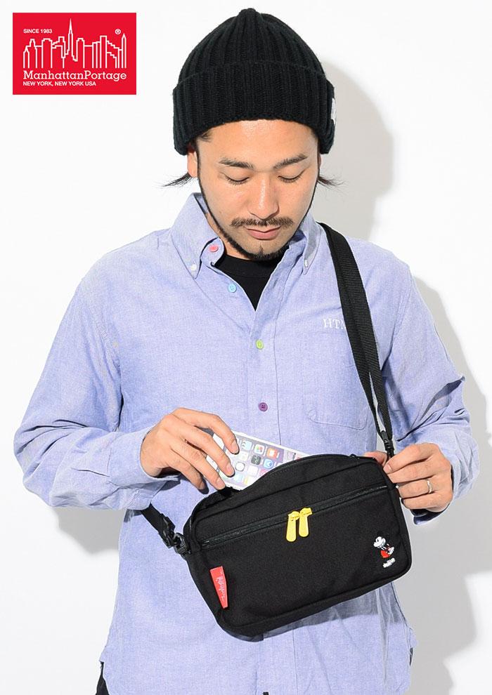 Manhattan Portageマンハッタンポーテージのショルダーバッグ Mickey Mouse Collection Jogger Bag05