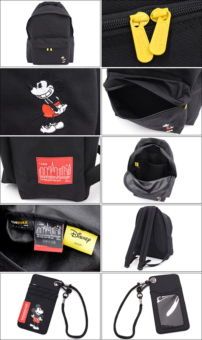 Manhattan Portageマンハッタンポーテージのバッグ Mickey Mouse Collection Big Apple Backpack07