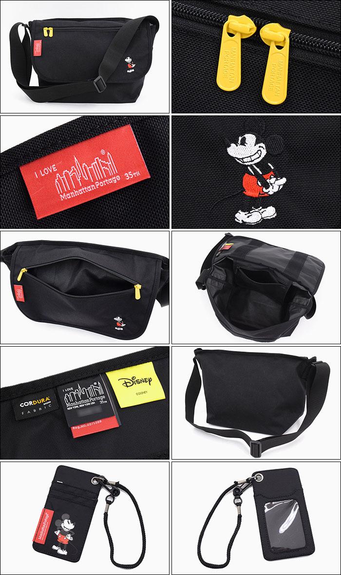Manhattan Portageマンハッタンポーテージのメッセンジャーバッグ Mickey Mouse Collection Casual Messenger Bag Medium07