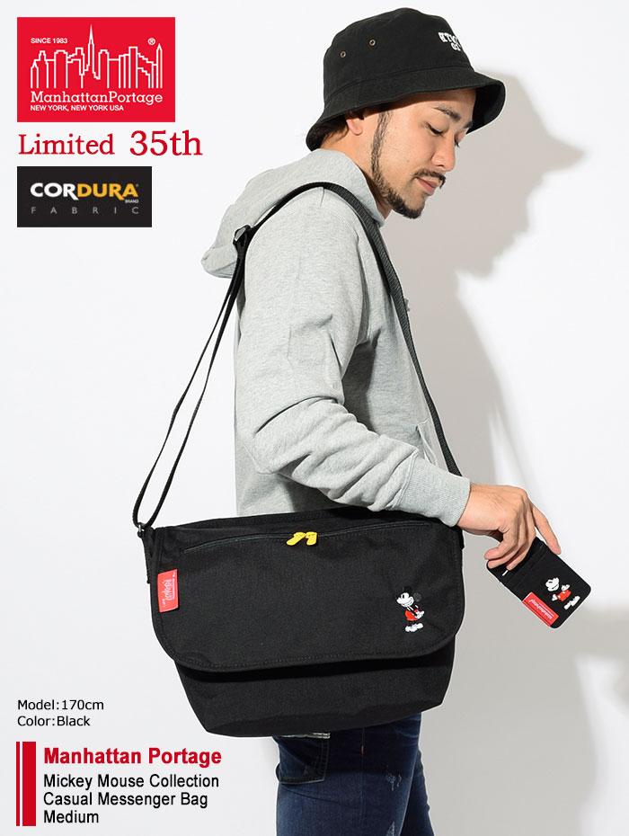 Manhattan Portageマンハッタンポーテージのメッセンジャーバッグ Mickey Mouse Collection Casual Messenger Bag Medium02