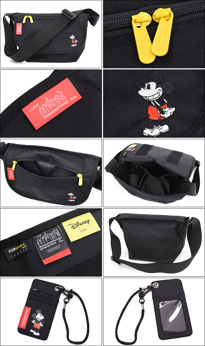 Manhattan Portageマンハッタンポーテージのメッセンジャーバッグ Mickey Mouse Collection Casual Messenger Bag Small07