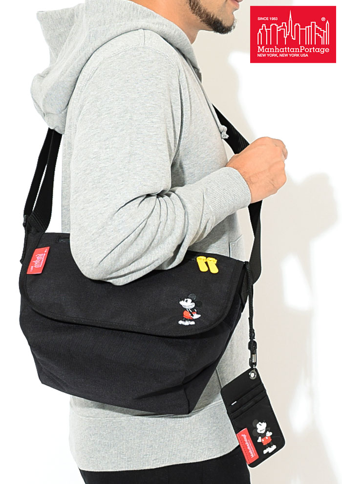 Manhattan Portageマンハッタンポーテージのメッセンジャーバッグ Mickey Mouse Collection Casual Messenger Bag Small04