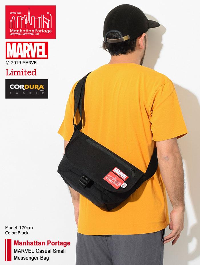 Manhattan Portageマンハッタンポーテージのメッセンジャーバッグ MARVEL Casual Small Messenger Bag01
