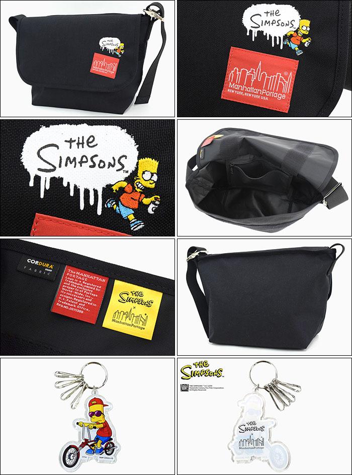 Manhattan Portageマンハッタンポーテージのバッグ The Simpsons Vintage Medium Messenger Bag04