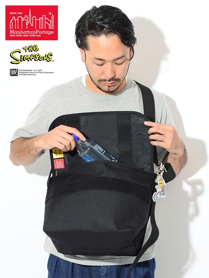Manhattan Portageマンハッタンポーテージのバッグ The Simpsons Vintage Medium Messenger Bag02