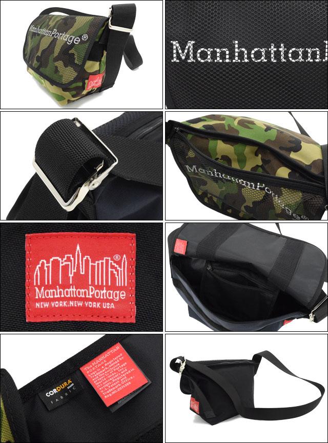 Manhattan Portageマンハッタンポーテージのバッグ MP Logo & Mesh Pocket Vintage Medium Messenger Bag02