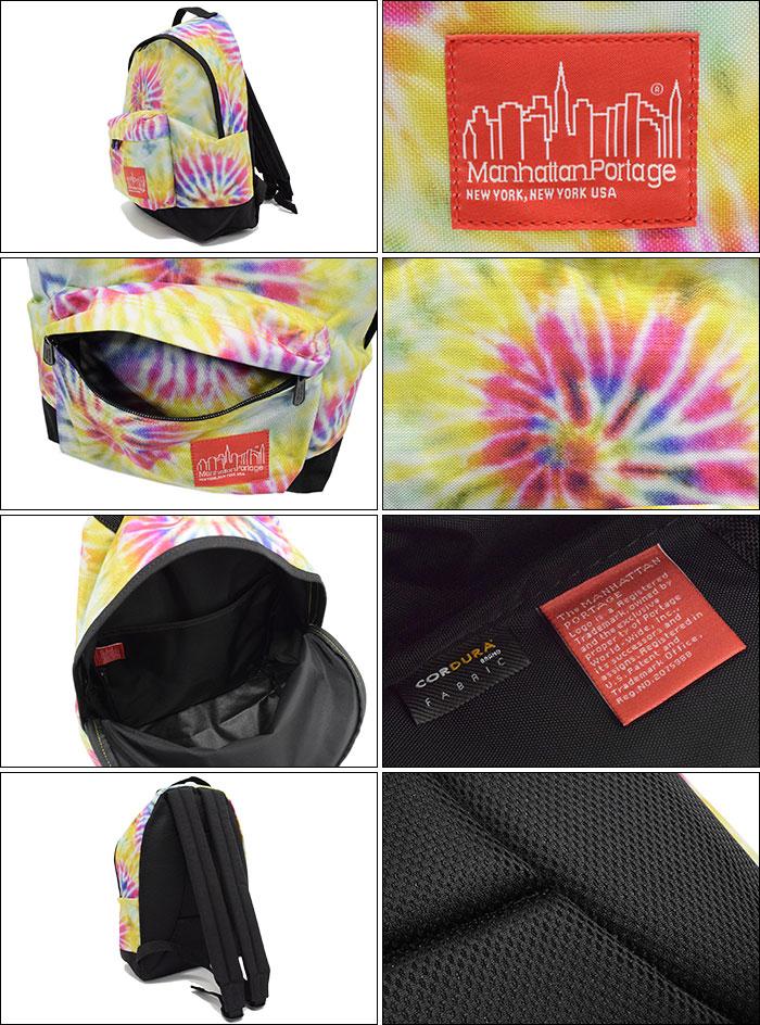 Manhattan Portageマンハッタンポーテージのバッグ Dye Print Fabric Big Apple Backpack02