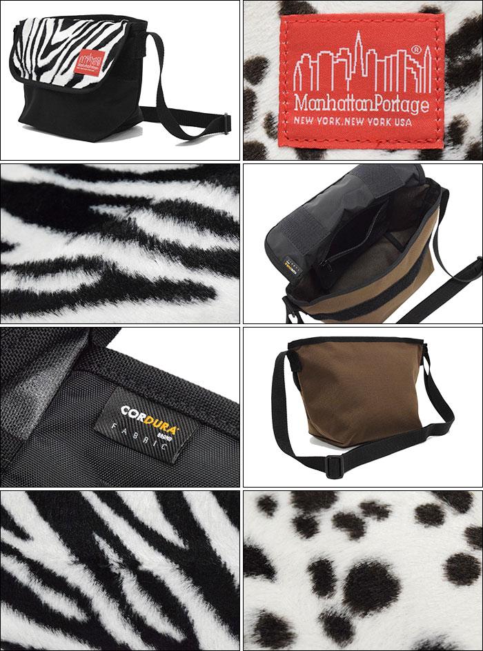 Manhattan Portageマンハッタンポーテージのバッグ 16AW Fake Fur Fabric Casual Extra Small Messenger02