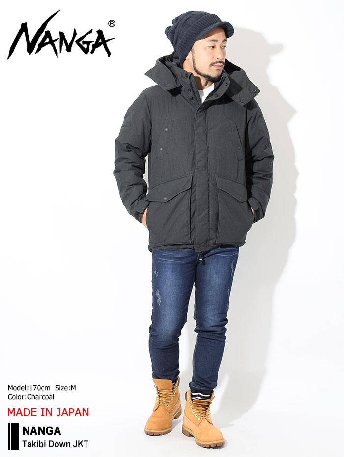 NANGAナンガのジャケット Takibi Down01