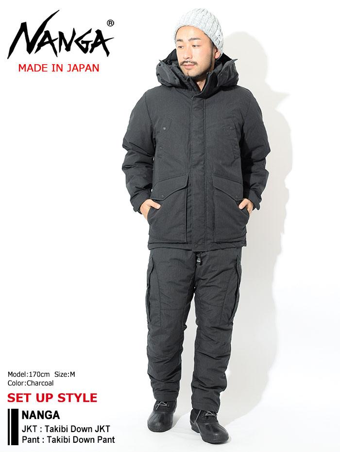 NANGAナンガのジャケット Takibi Down02