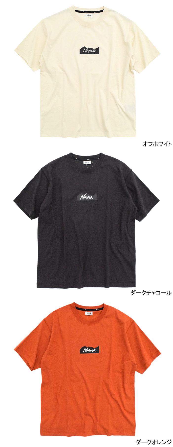 NANGAナンガのTシャツ Logo11