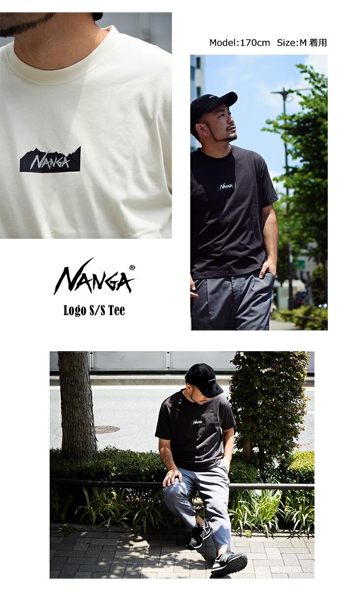 NANGAナンガのTシャツ Logo05