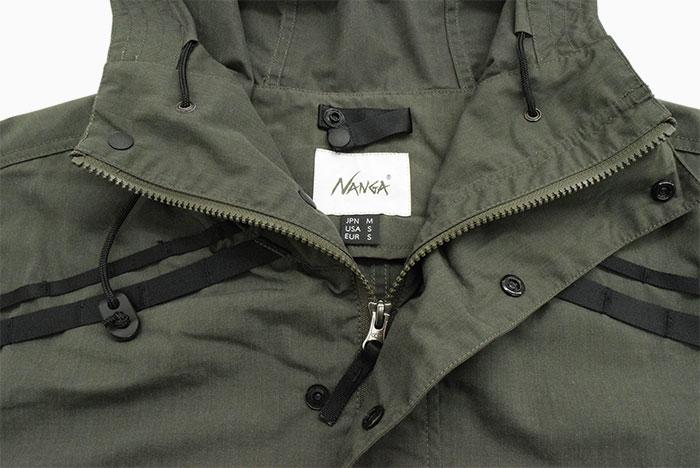 NANGAナンガのジャケット Takibi Field Anorak Parka10