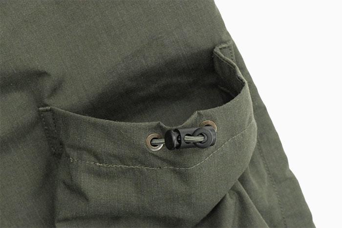 NANGAナンガのジャケット Takibi Field Anorak Parka18