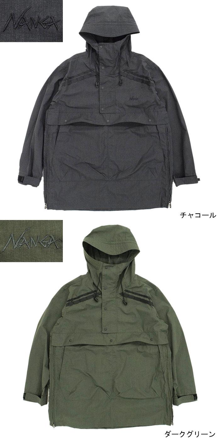 NANGAナンガのジャケット Takibi Field Anorak Parka08