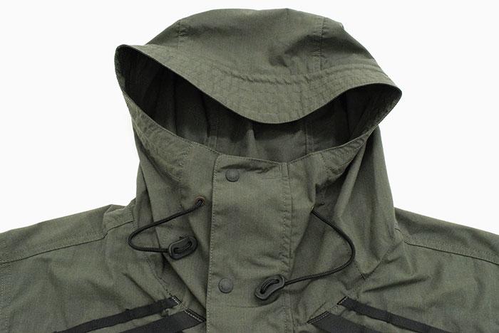 NANGAナンガのジャケット Takibi Field Anorak Parka09