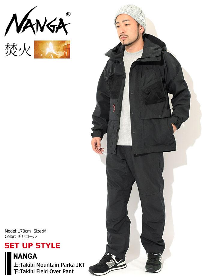 NANGAナンガのジャケット Takibi Mountain Parka01