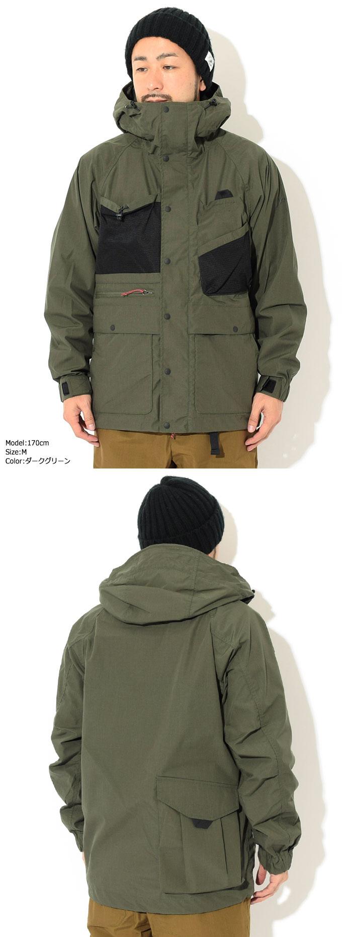NANGAナンガのジャケット Takibi Mountain Parka03