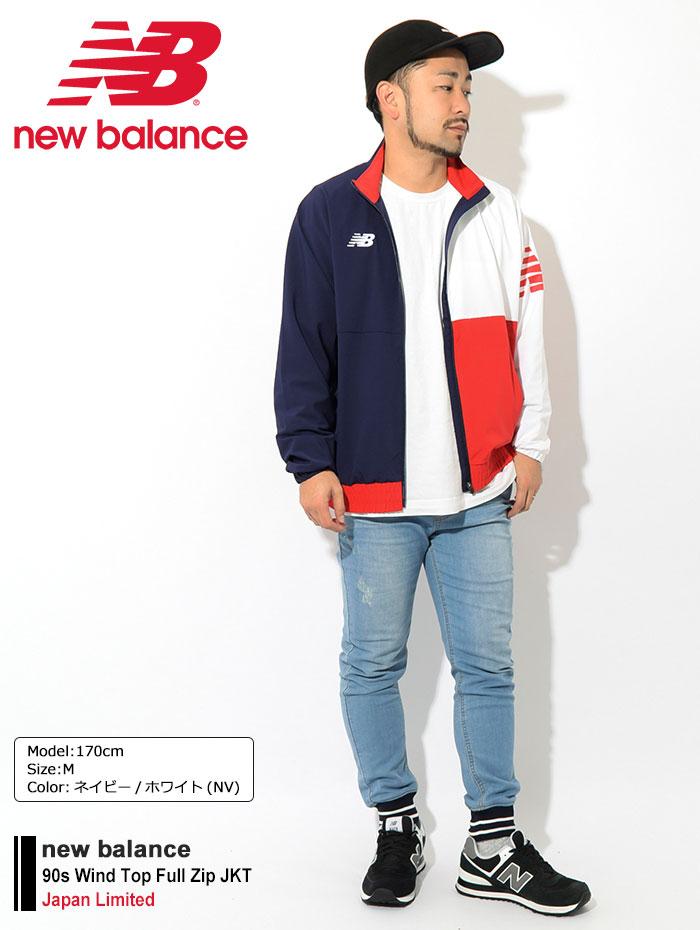 new balanceニューバランスのジャケット 90s Wind Top Full Zip01