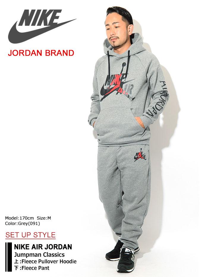 NIKEナイキのパーカー AIR JORDAN Jumpman Classics Fleece Pullover Hoodie03