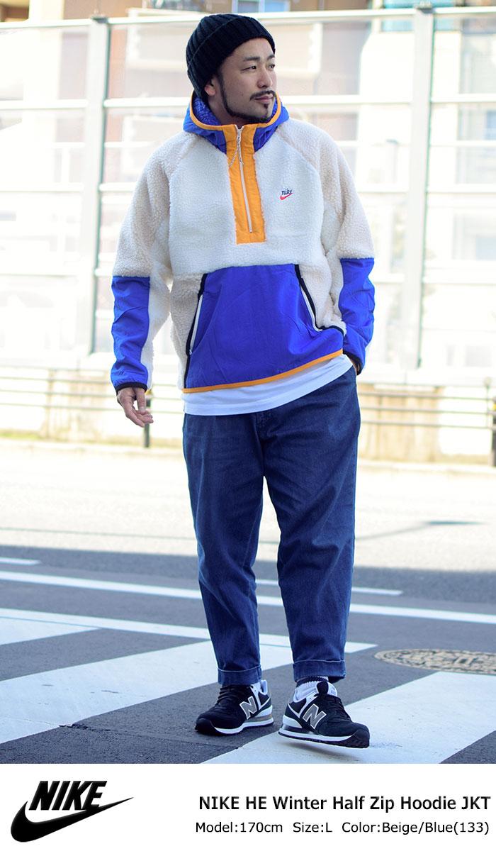 NIKEナイキのジャケット HE Winter Half Zip Hoodie05