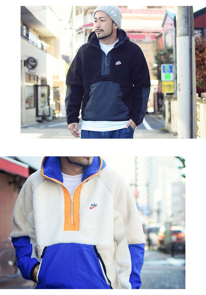 NIKEナイキのジャケット HE Winter Half Zip Hoodie06