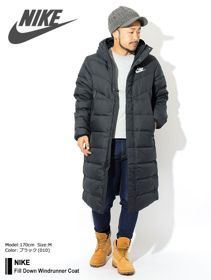 NIKEナイキのジャケット Fill Down Windrunner Coat01