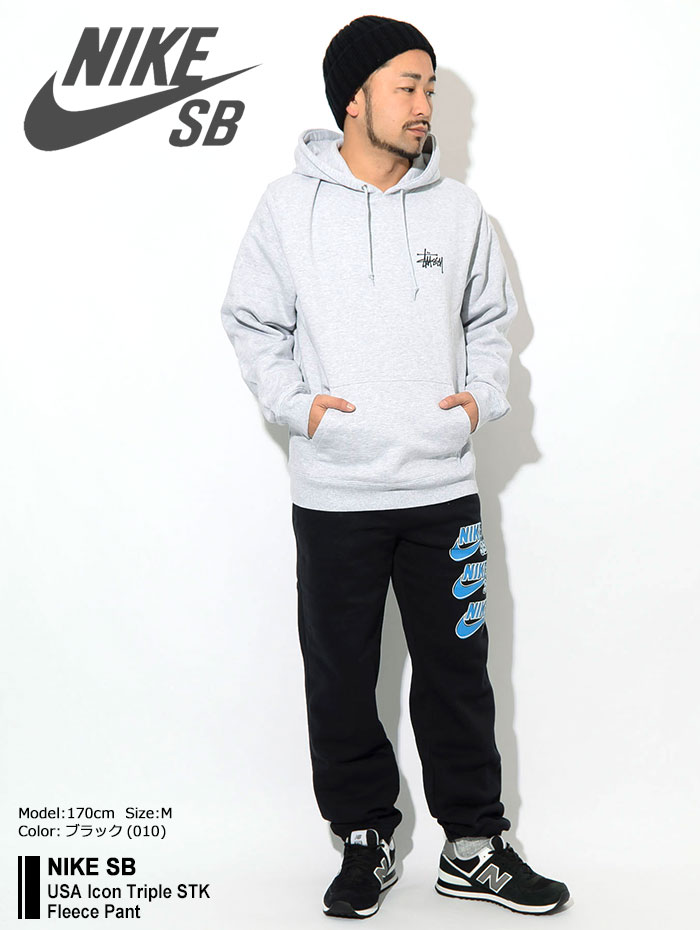 NIKEナイキのパンツ SB USA Icon Triple STK Fleece Pant01