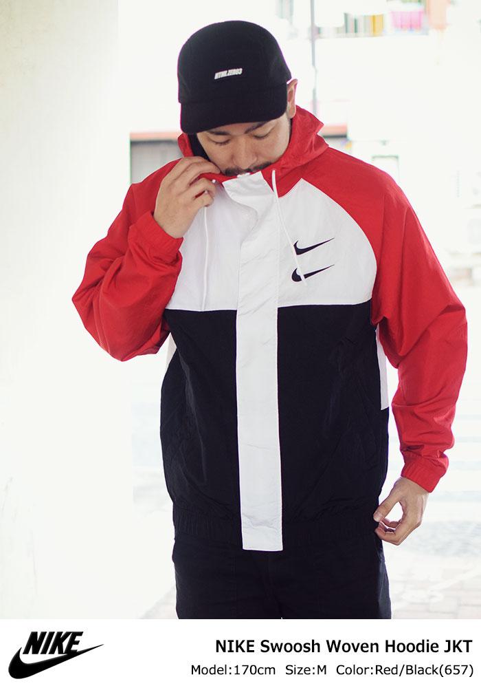 NIKEナイキのジャケット Swoosh Woven Hoodie01
