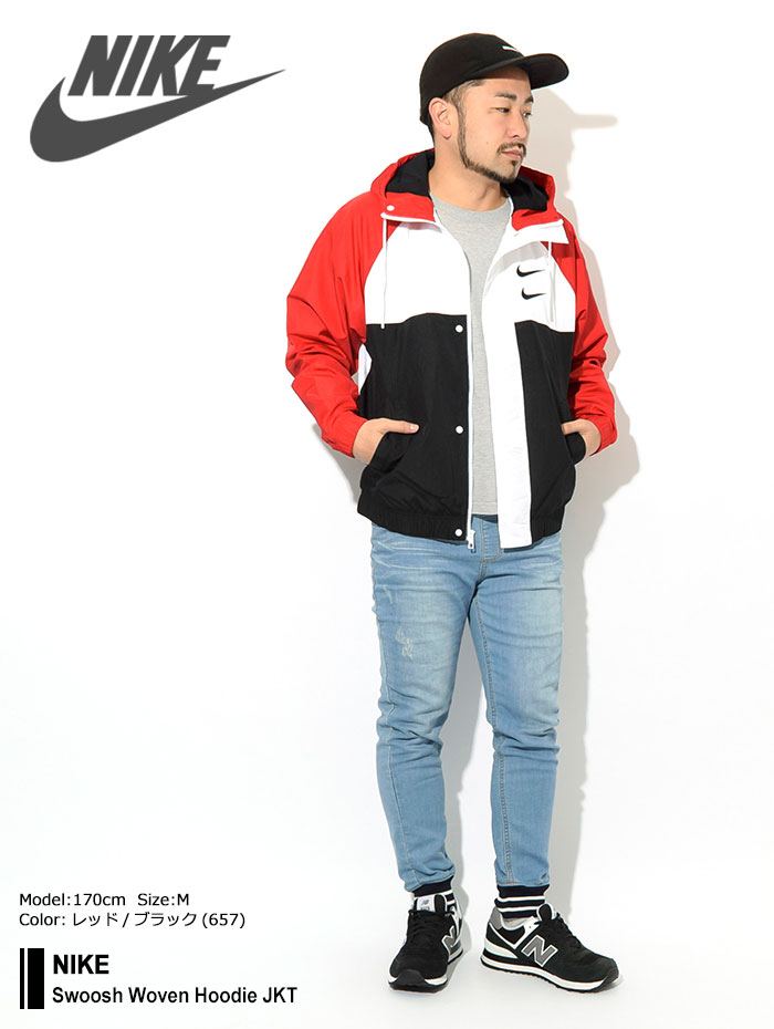 NIKEナイキのジャケット Swoosh Woven Hoodie10