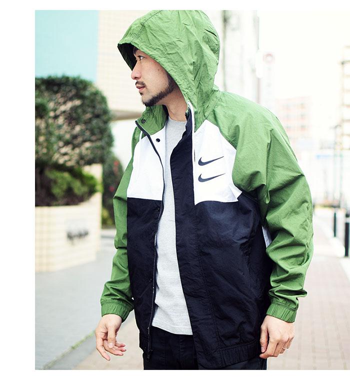 NIKEナイキのジャケット Swoosh Woven Hoodie02