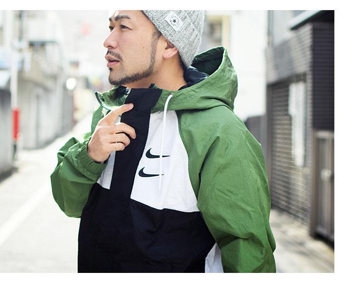 NIKEナイキのジャケット Swoosh Woven Hoodie04