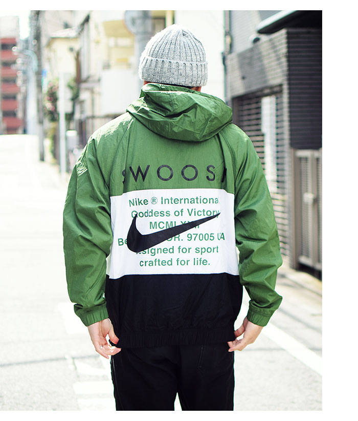 NIKEナイキのジャケット Swoosh Woven Hoodie06