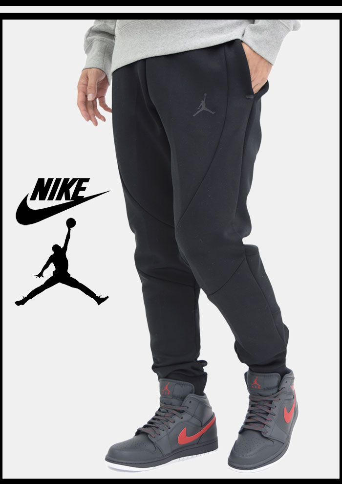 a80f3778fa1b NIKEナイキのパンツ AIR JORDAN JSW Flight Tech04  Jordan Sportswear Flight Tech  Shield Crew Black ...