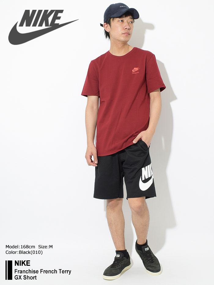 NIKEナイキのハーフパンツ Franchise French Terry GX Short01
