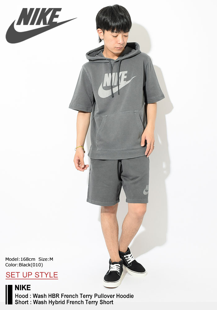 NIKEナイキのパーカー Wash HBR French Terry Pullover Hoodie01