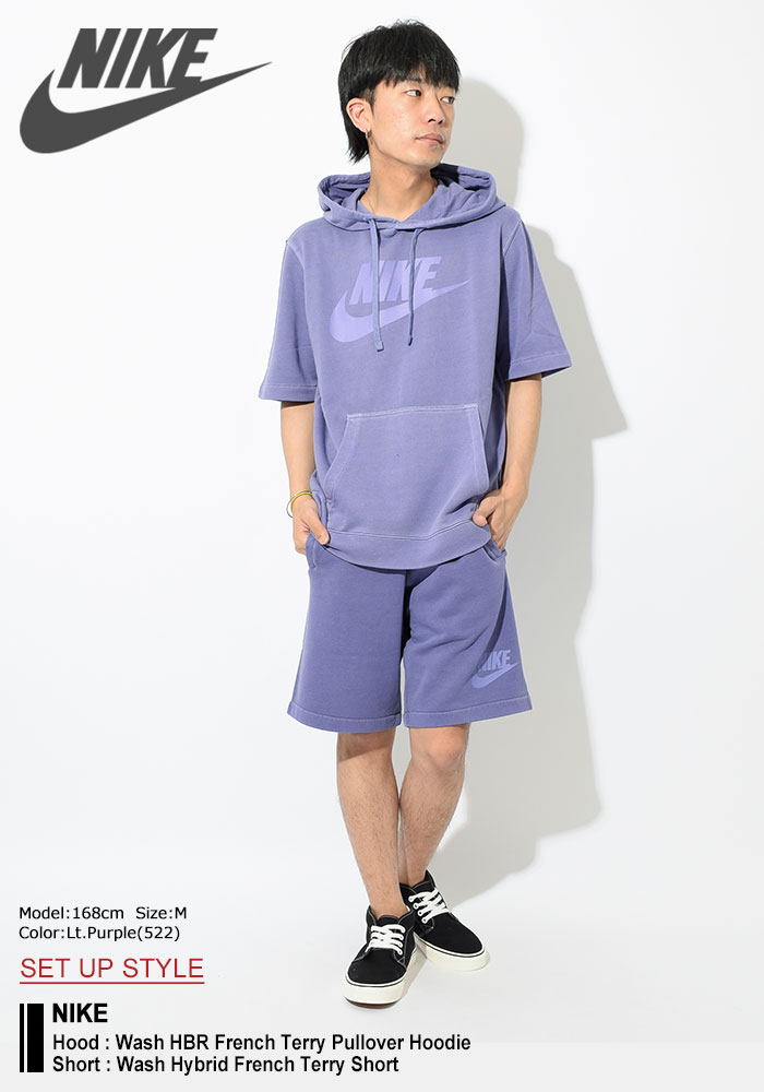 NIKEナイキのハーフパンツ Wash Hybrid French Terry Short01