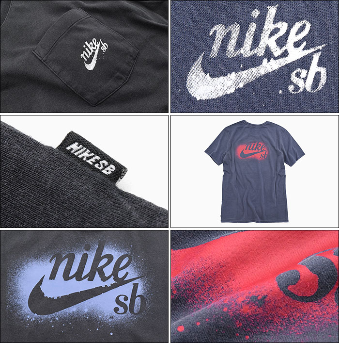 NIKEナイキのTシャツ SB Washedlance Graphic Pocket04