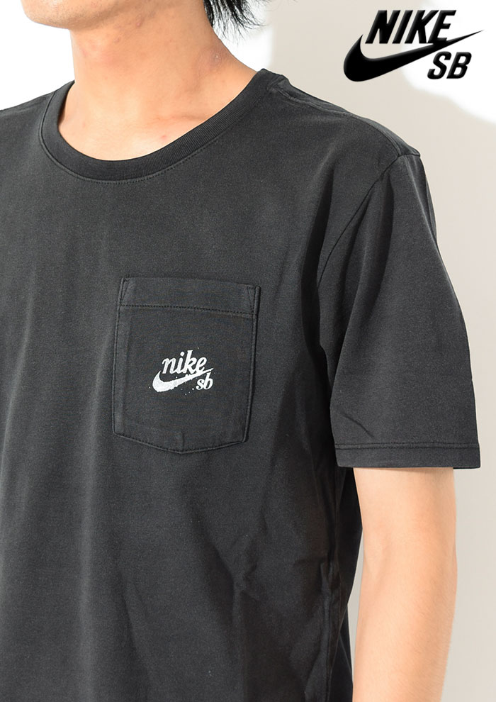 NIKEナイキのTシャツ SB Washedlance Graphic Pocket02