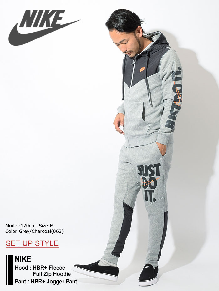 NIKEナイキのパーカー HBR+ Fleece Full Zip Hoodie01
